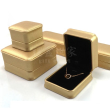 Gold PU leather for jewelry package box